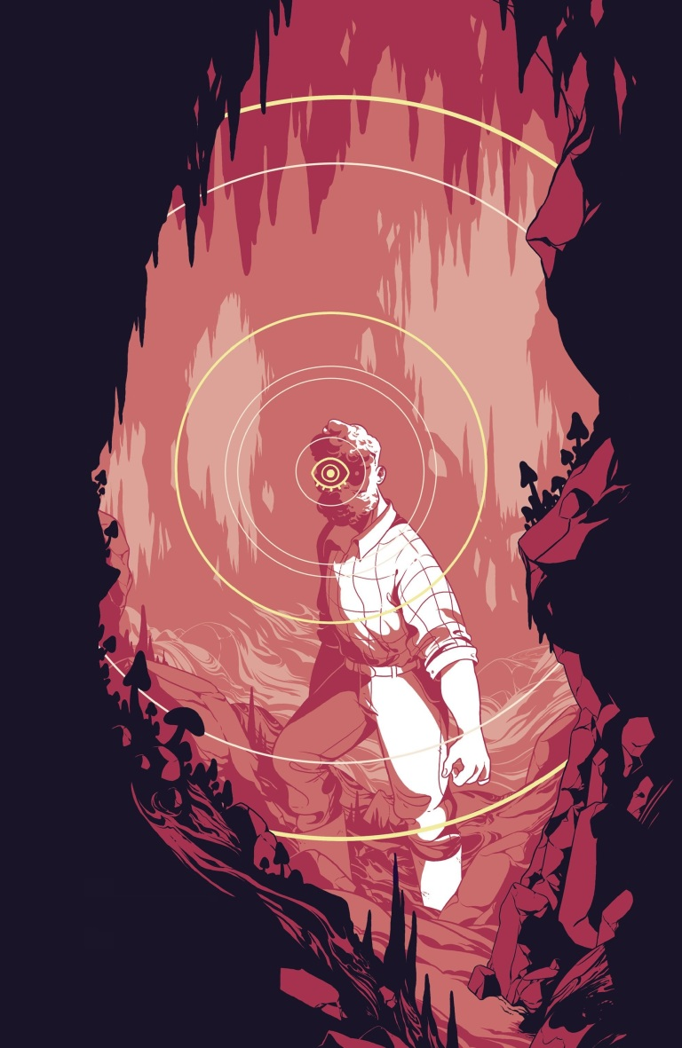 Cave Carson Has A Cybernetic Eye #12 (Cover B Rosemary Valero O'Connell)