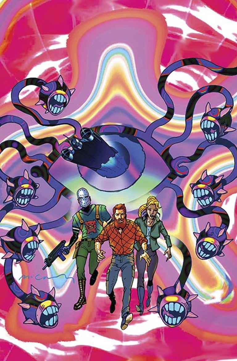 Cave Carson Has A Cybernetic Eye #6 (Cover B Brendan McCarthy)
