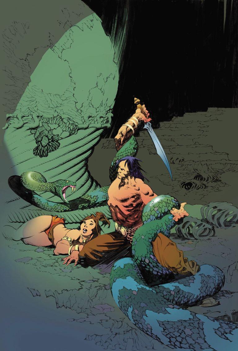 Conan The Slayer #11 (Thomas Grindberg Cover)