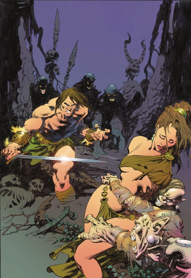 Conan the Slayer #12 (Phroilan Gardner Cover)