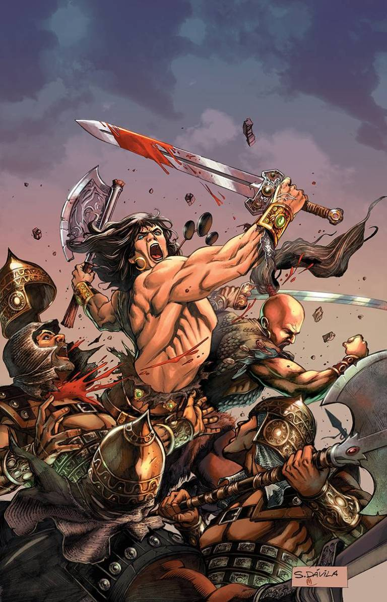 Conan The Slayer #2 (Sergio Davila Cover)
