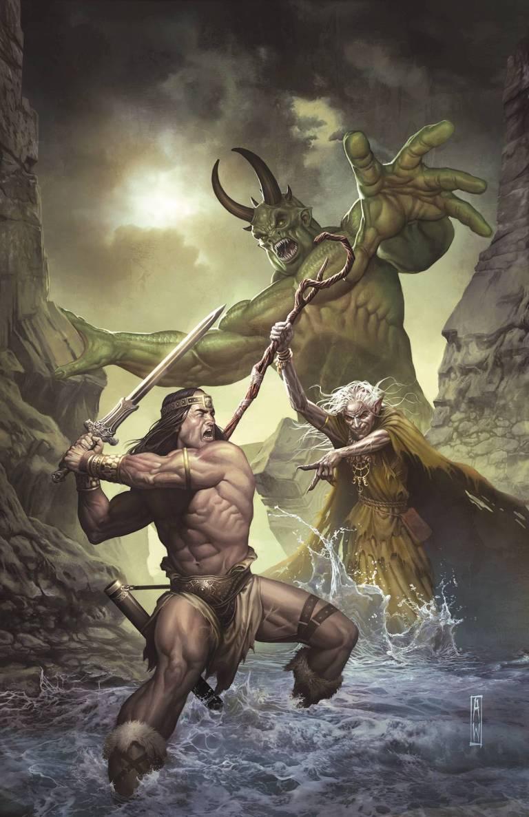 Conan the Slayer #3 (Admira Wijaya Regular Cover)