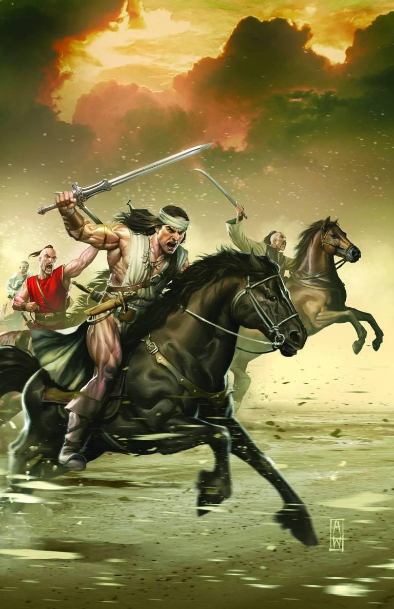 Conan the Slayer #4 (Admira Wijaya Regular Cover)