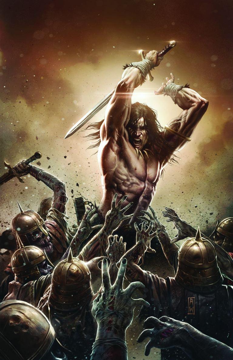 Conan the Slayer #5 (Admira Wijaya Regular Cover)