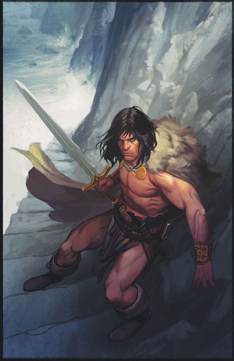 Conan the Slayer #9 (Phroilan Gardner Cover)