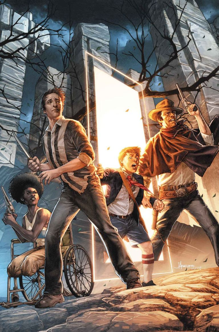 Dark Tower The Drawing of the Three - The Sailor #4 (Jay Anacleto Regular Cover)