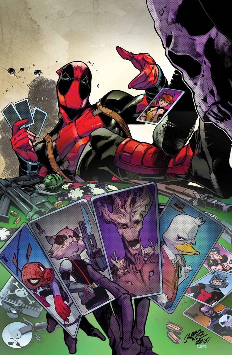 Deadpool Too Soon #1 (Of 4)(Pepe Larraz Regular Cover)