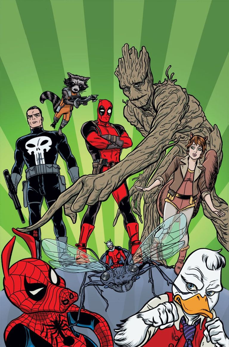 Deadpool Too Soon #3 (Mike Allred Variant Cover)