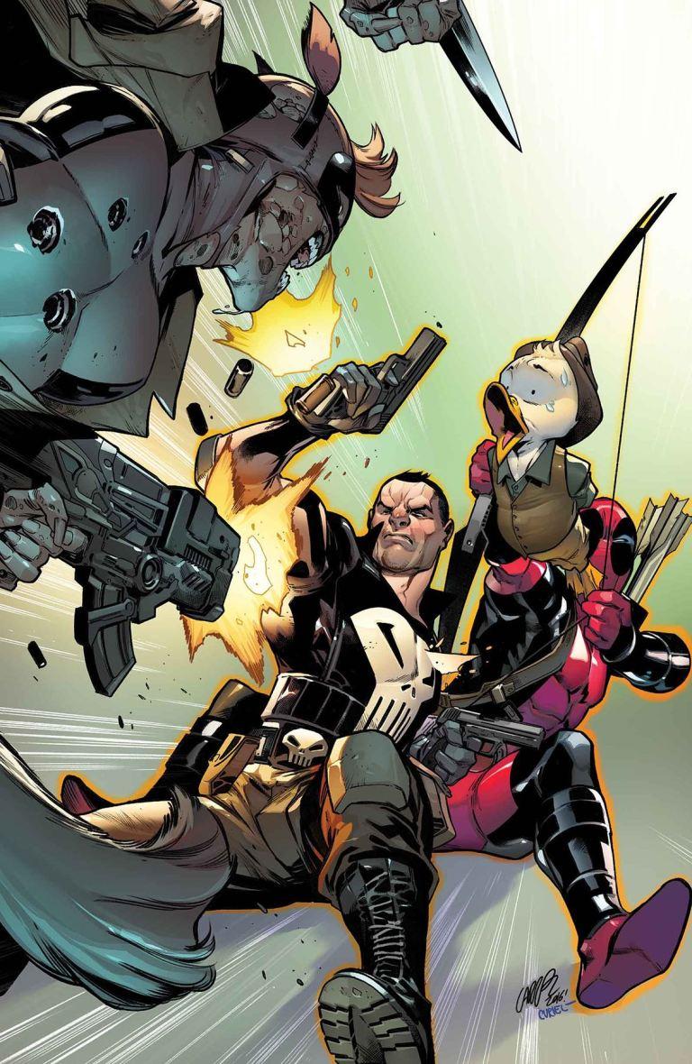Deadpool Too Soon #4 (Pepe Larraz Regular Cover)