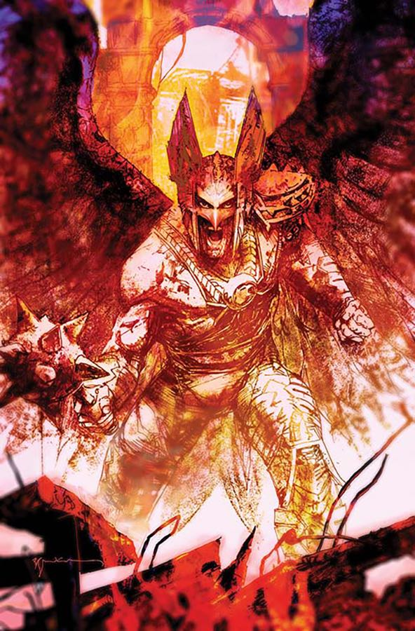 Death Of Hawkman #6 (Cover B Bill Sienkiewicz)