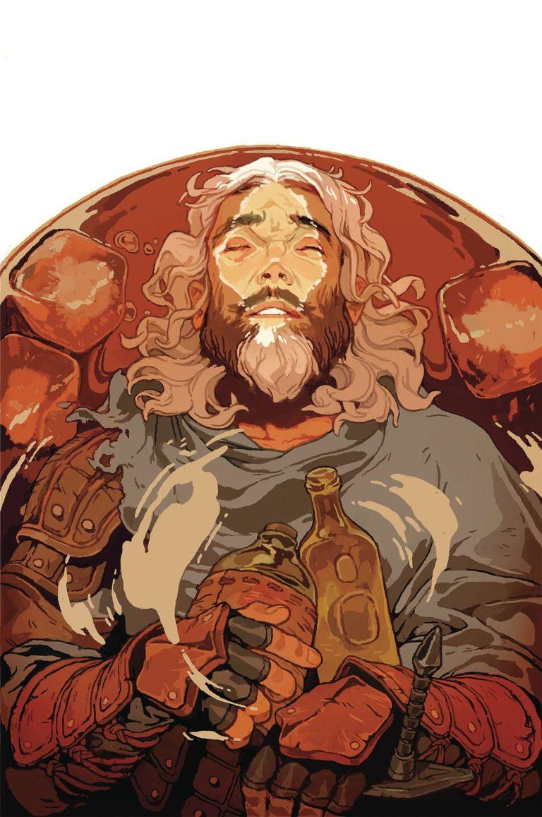 Dragon Age Knight Errant #3 (Sachin Teng Cover)