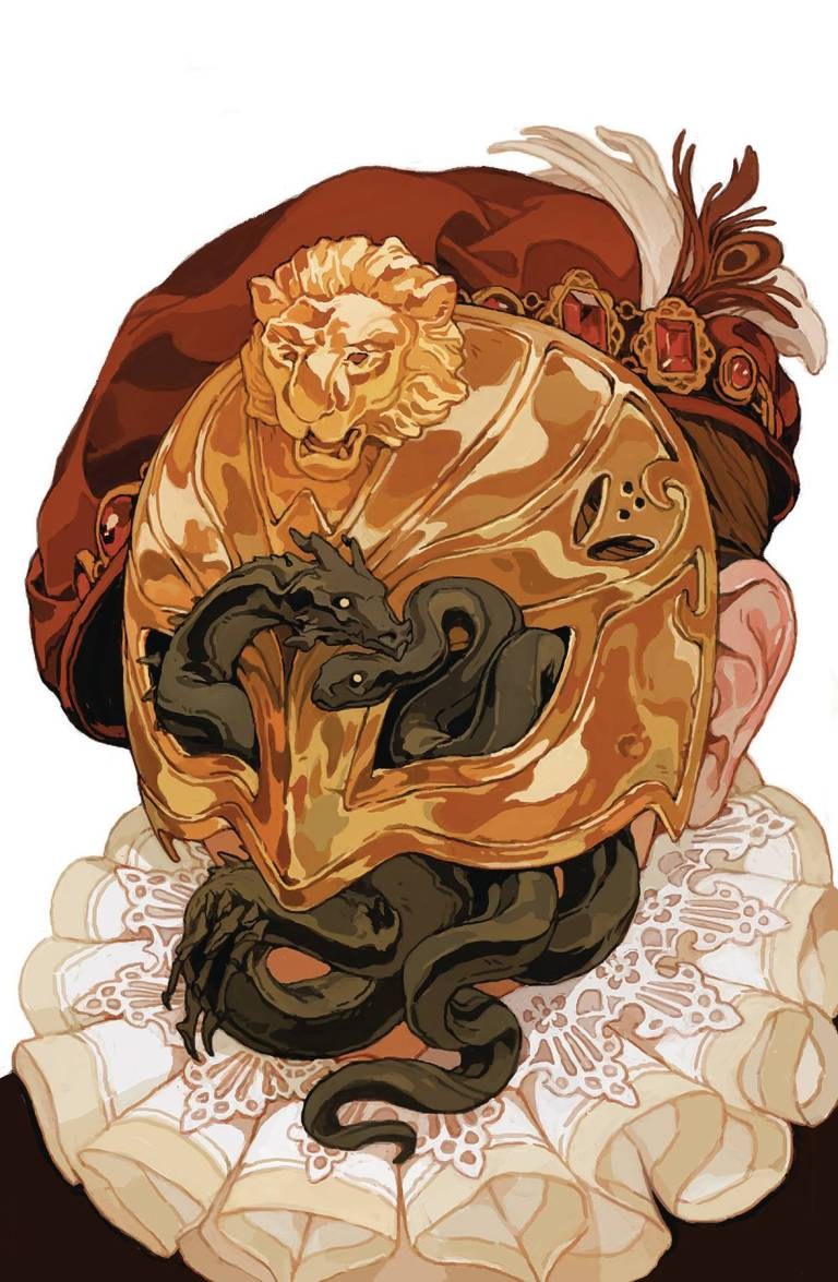 Dragon Age Knight Errant #4 (Sachin Teng Cover)