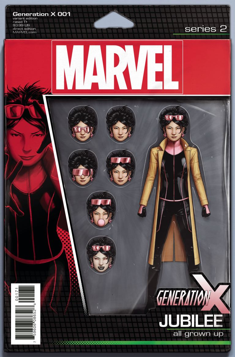 Generation X #1 (Cover C John Christopher Action Figure Variant)