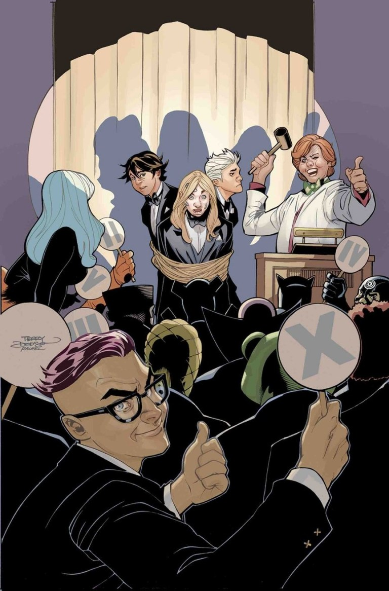 Generation X #6 (Terry Dodson Cover)