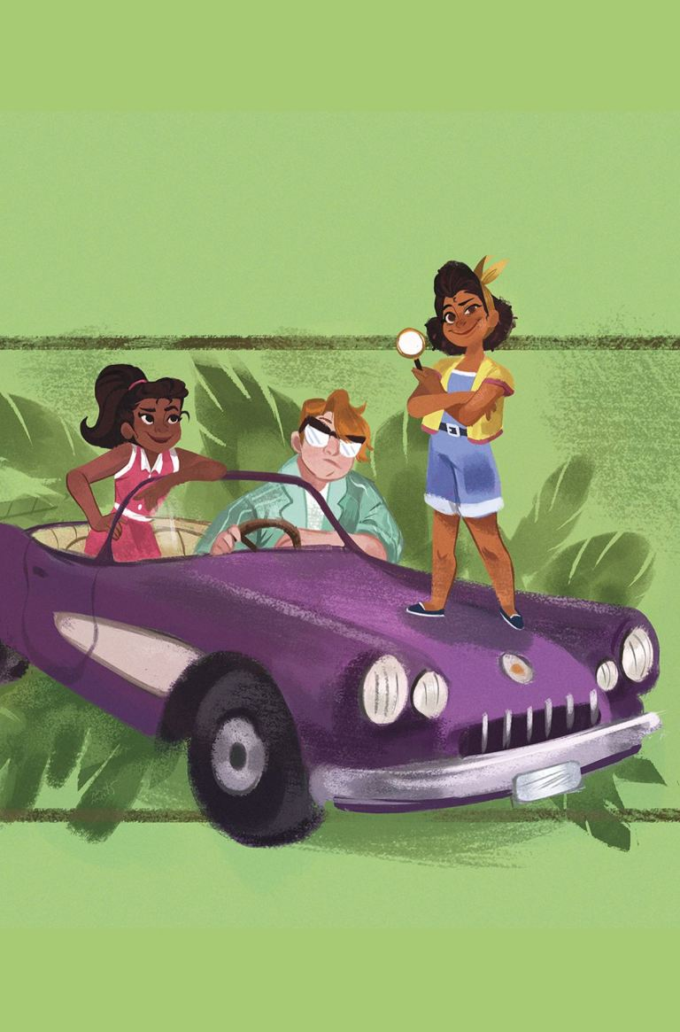 Goldie Vance #10 (Cover A Nneka Myers)