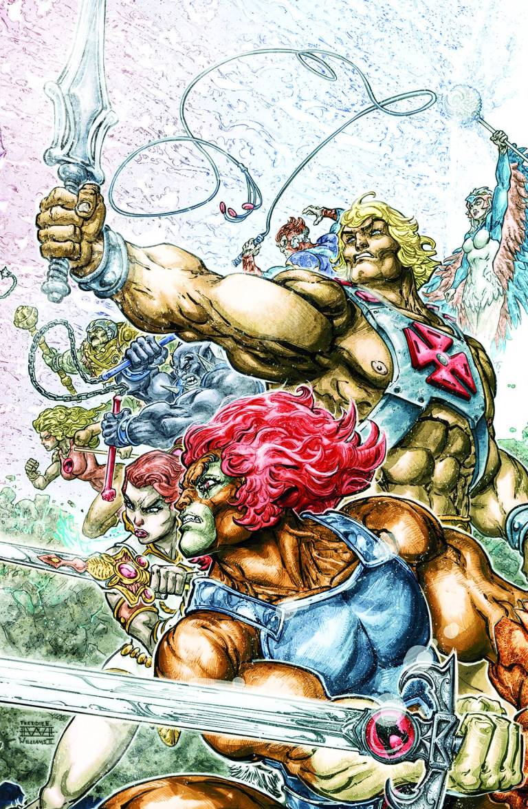 He-Man Thundercats #1 (Cover A Freddie E. Williams II)