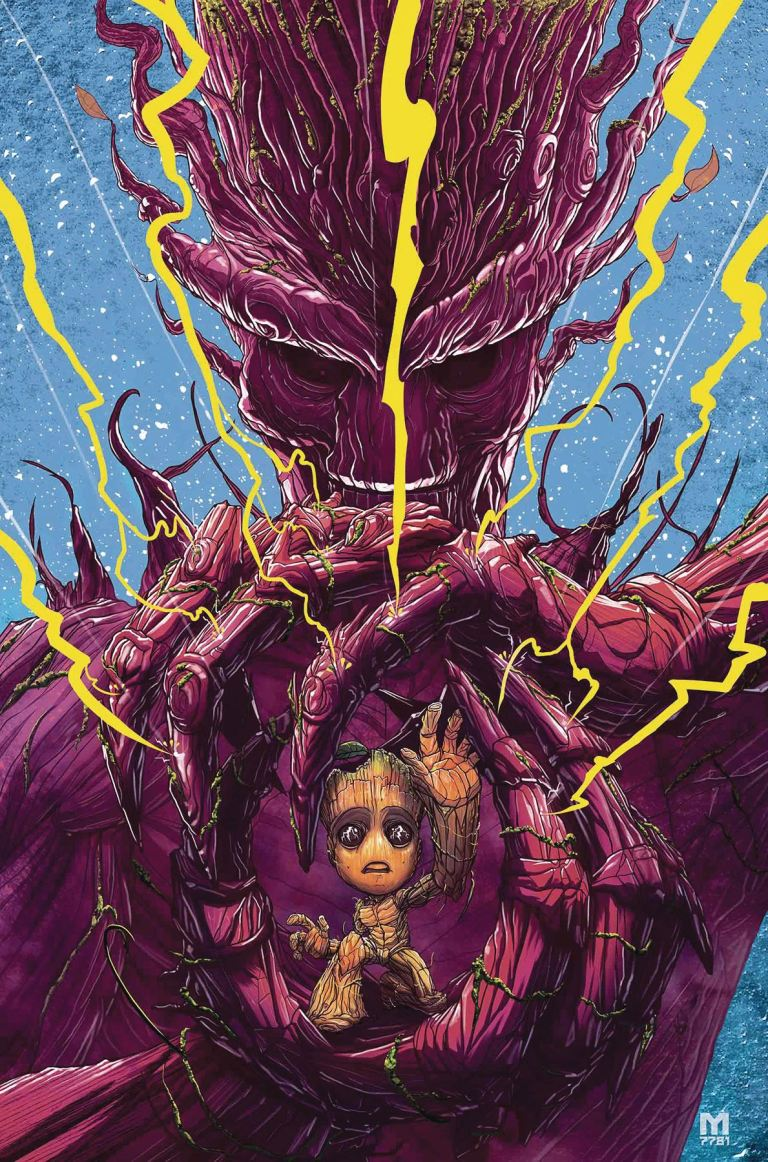 I Am Groot #4 (Cover A Marco D'Alfonso)