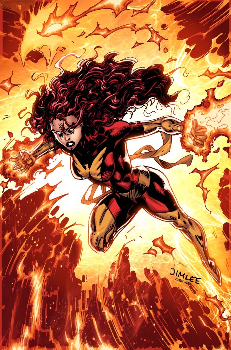 Jean Grey #4 (Cover C Jim Lee X-Men Trading Card Variant)