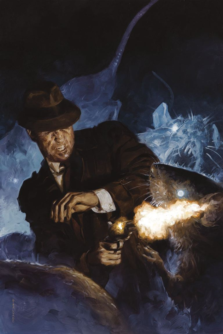 Joe Golem Occult Detective The Outer Dark #3 (David Palumbo Cover)