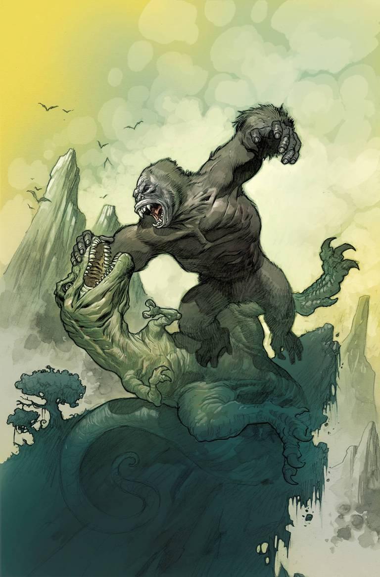 Kong Of Skull Island #1 (Cover C Eric Powell)