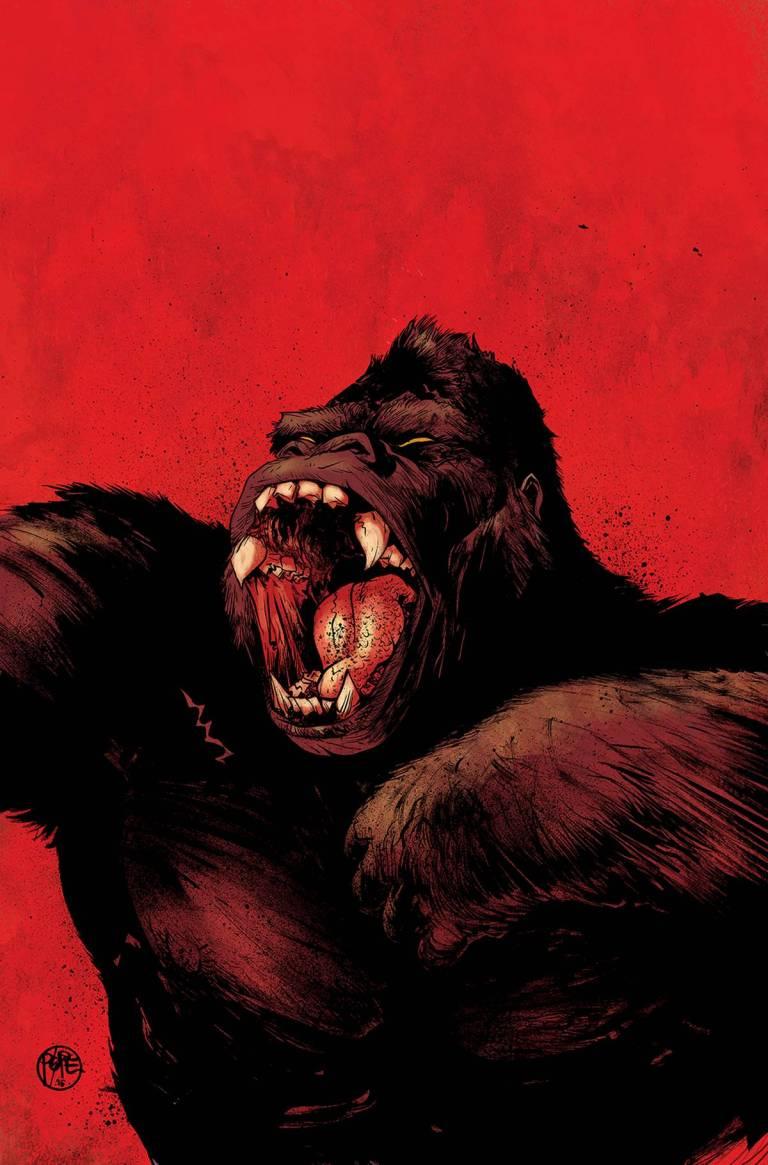 Kong Of Skull Island #1 (Cover E Paul Pope)