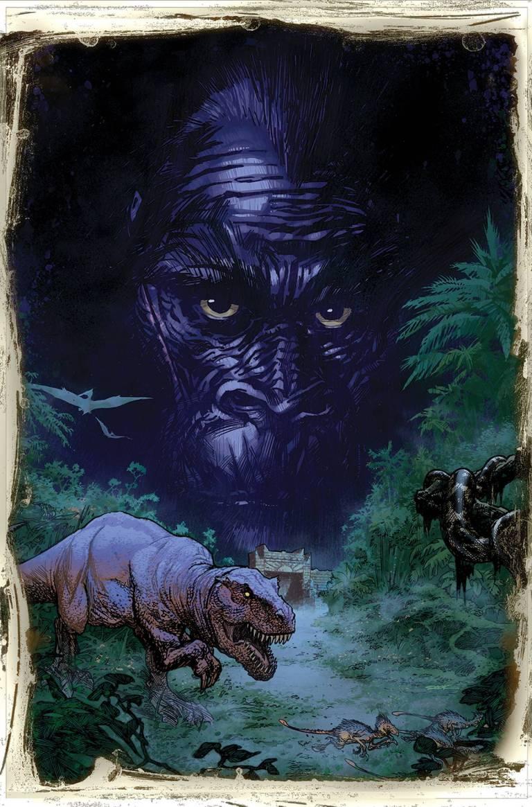 Kong Of Skull Island #1 (Cover F Ryan Sook)