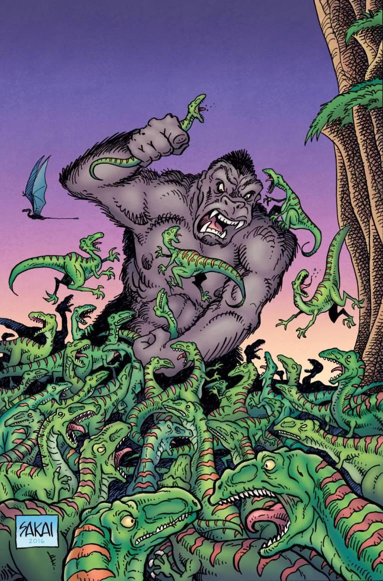 Kong Of Skull Island #2 (Cover B Stan Sakai)