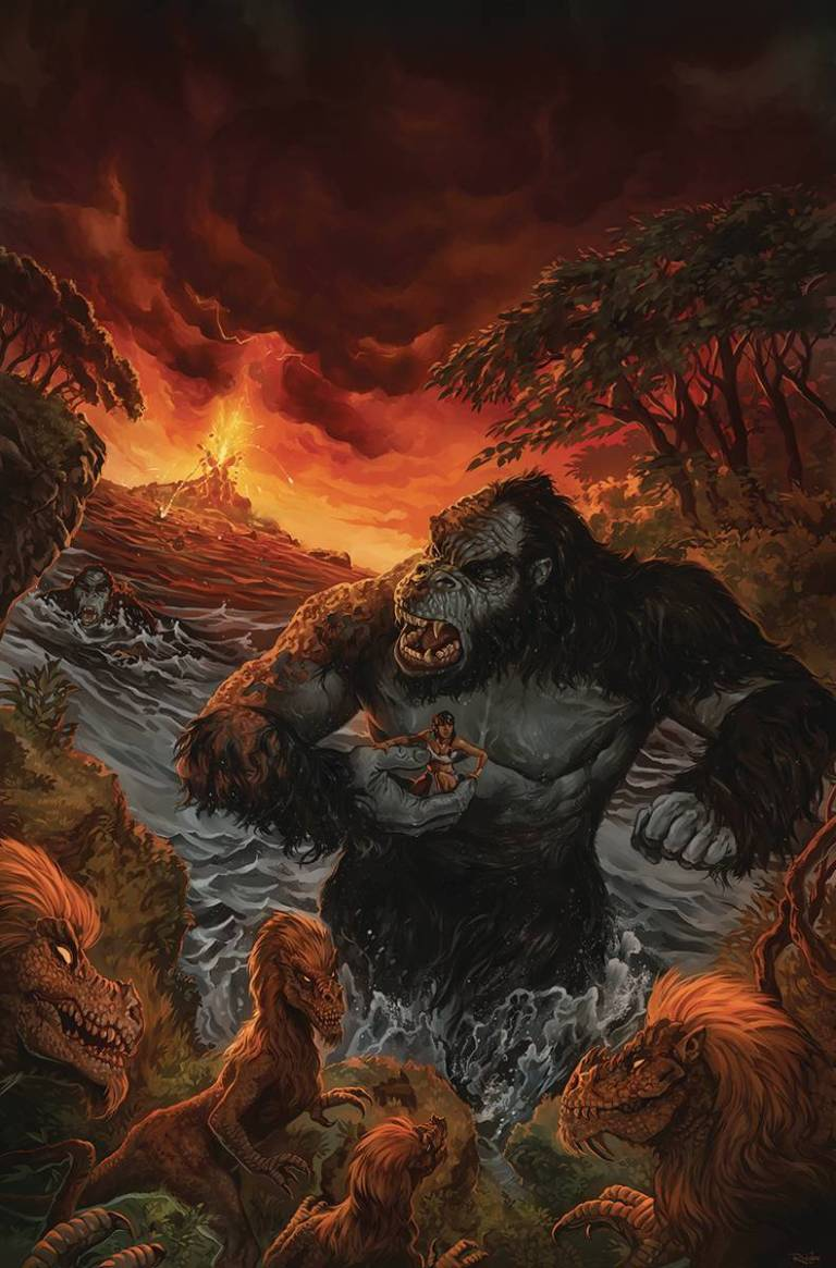 Kong Of Skull Island #3 (Cover A Nick Robles)