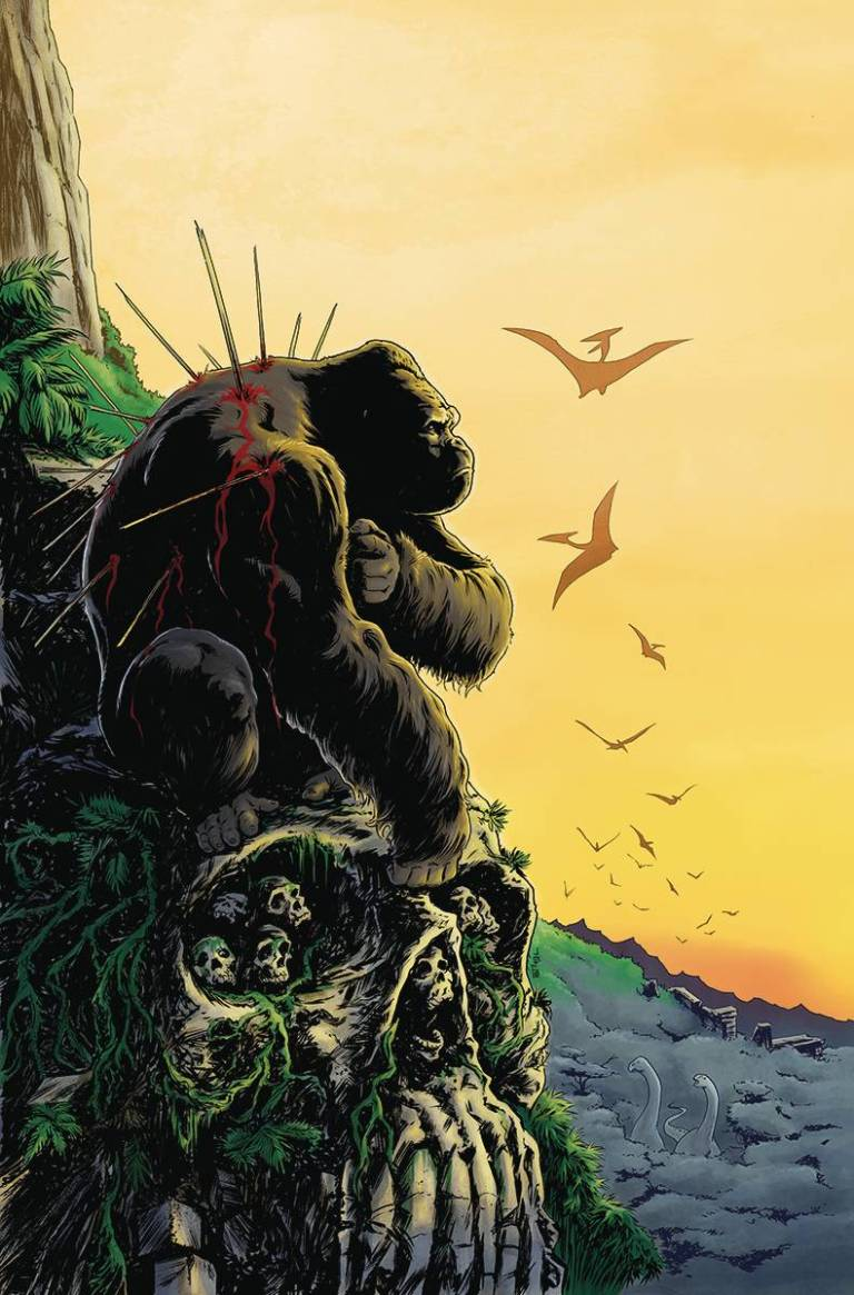 Kong Of Skull Island #3 (Cover B Tadd Galusha)