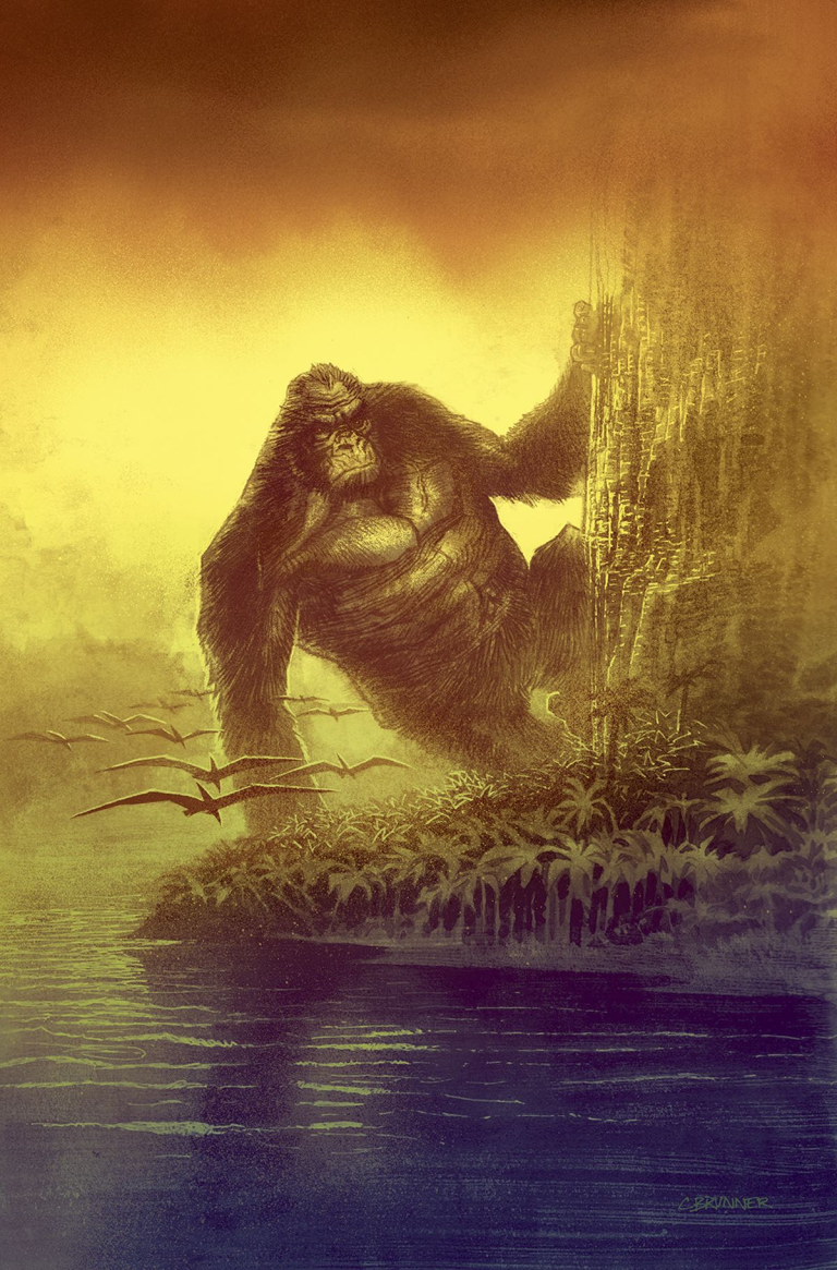 Kong Of Skull Island #4 (Cover B Chris Brunner)
