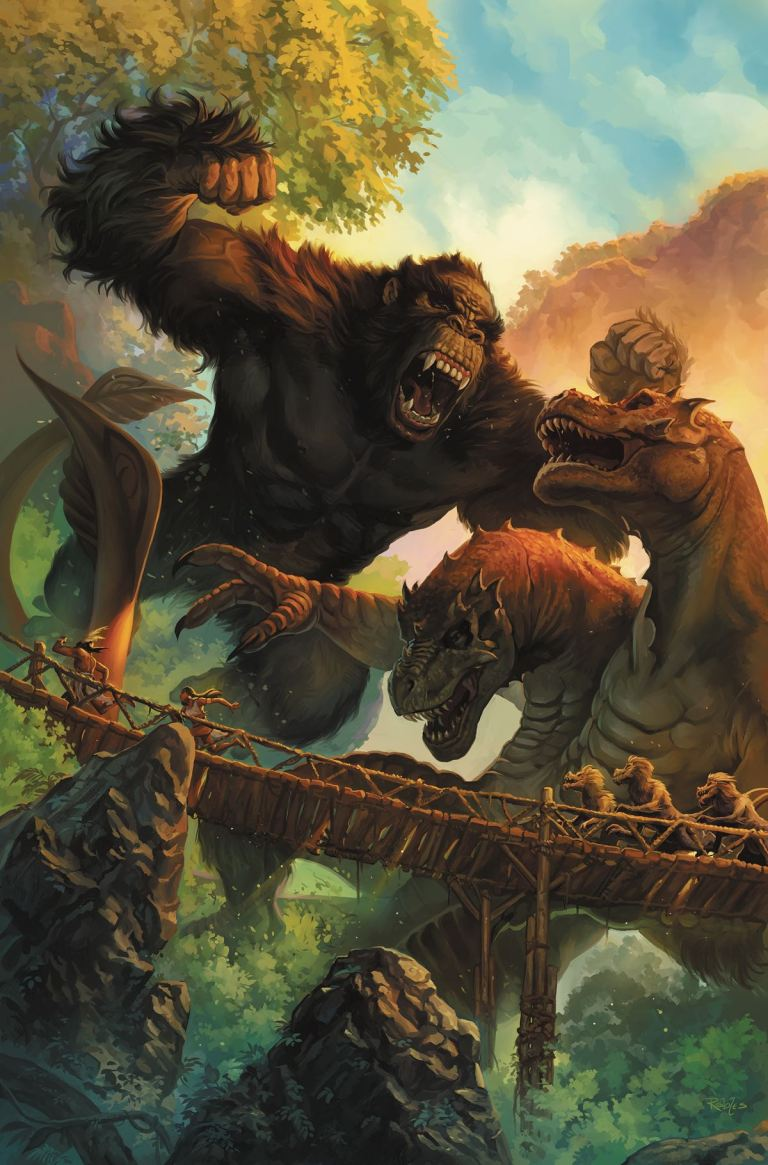 Kong Of Skull Island #6 (Cover A Nick Robles)