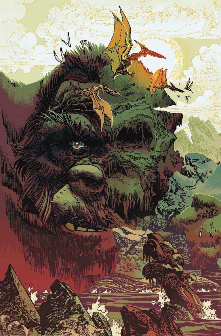 Kong Of Skull Island #6 (Cover B Artyom Trakhanov)