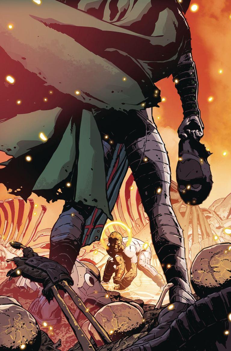 Midnighter and Apollo #5 (Aco Cover)