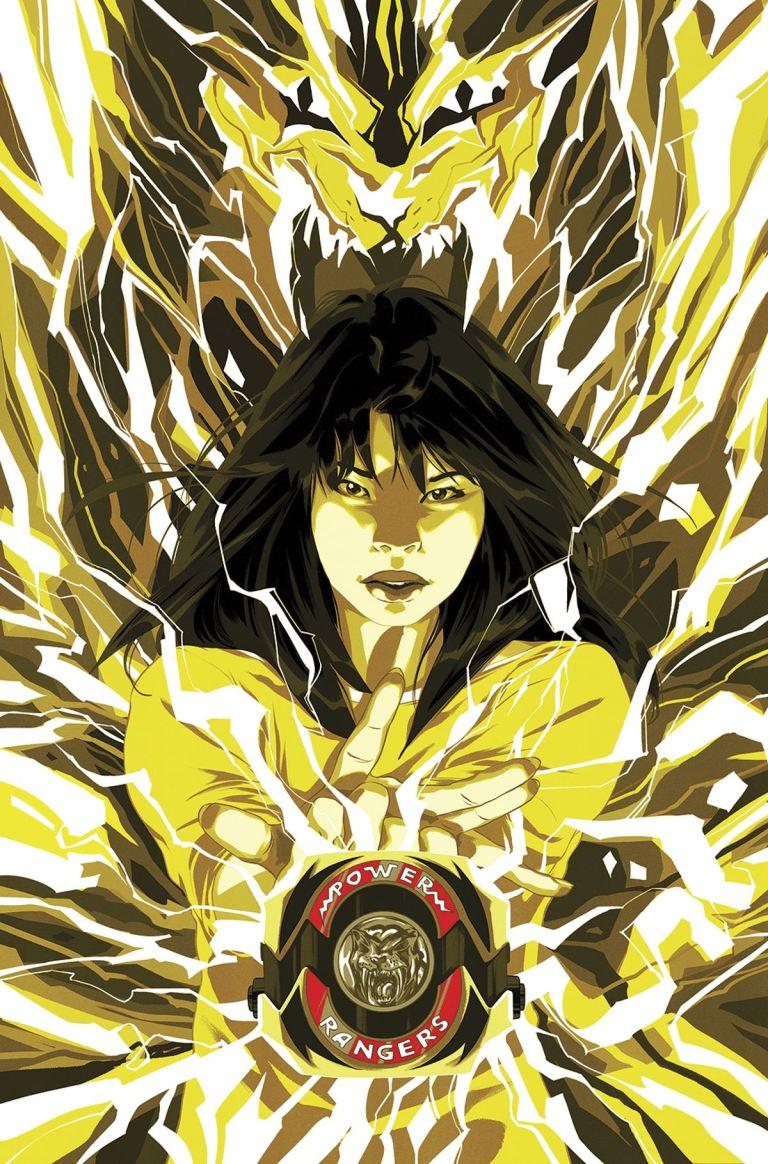 Mighty Morphin Power Rangers #11 (Cover B Goni Montes Morph Variant)