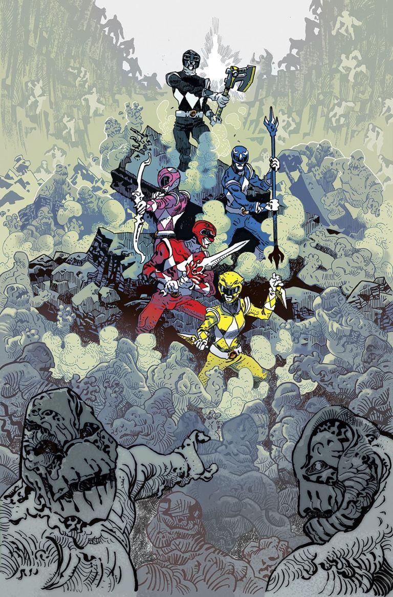 Mighty Morphin Power Rangers #11 (Cover E Artyom Trakhanov Unlockable Villian Variant)