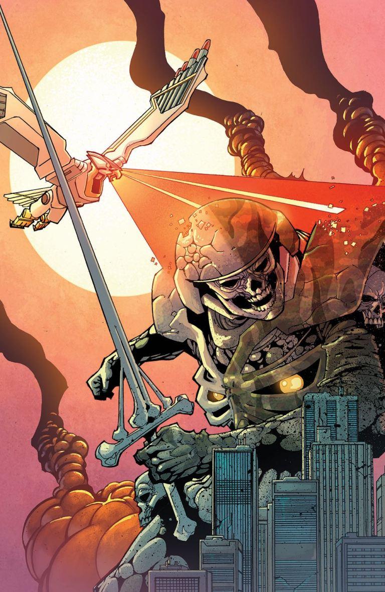 Mighty Morphin Power Rangers #12 (Cover E Artyom Trakhanov Villain Variant)