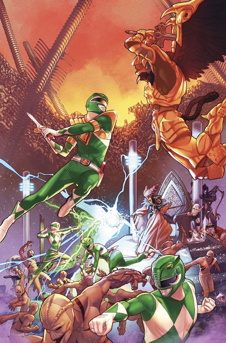 Mighty Morphin Power Rangers #13 (Cover A Jamal Campbell)