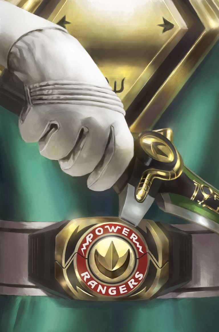 Mighty Morphin Power Rangers #13 (Cover D Miguel Mercado Foil Pop-Out Power Coin Variant)