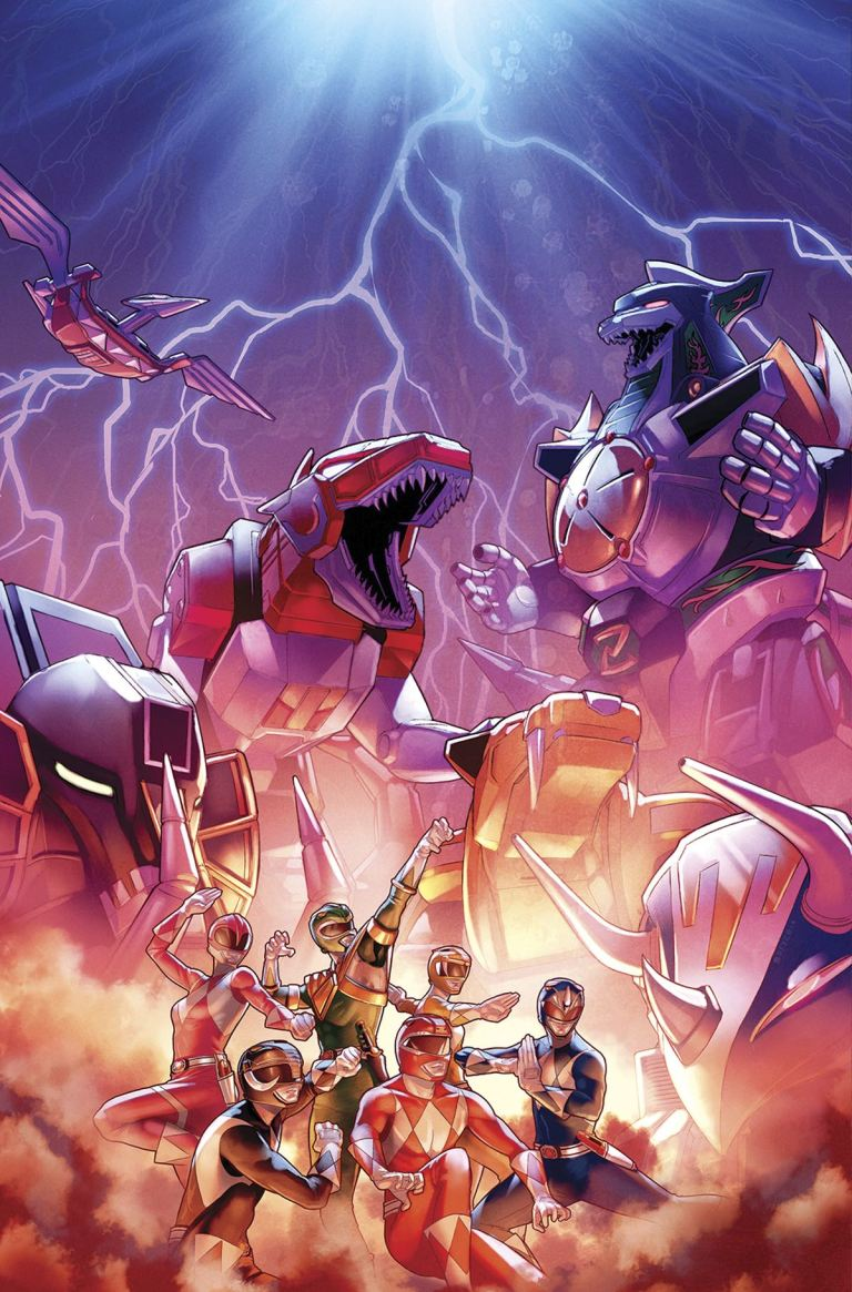 Mighty Morphin Power Rangers #14 (Cover A Jamal Campbell)