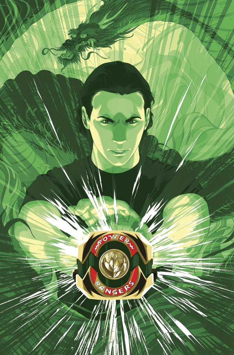 Mighty Morphin Power Rangers #14 (Cover C Goni Montes Morphin Variant)