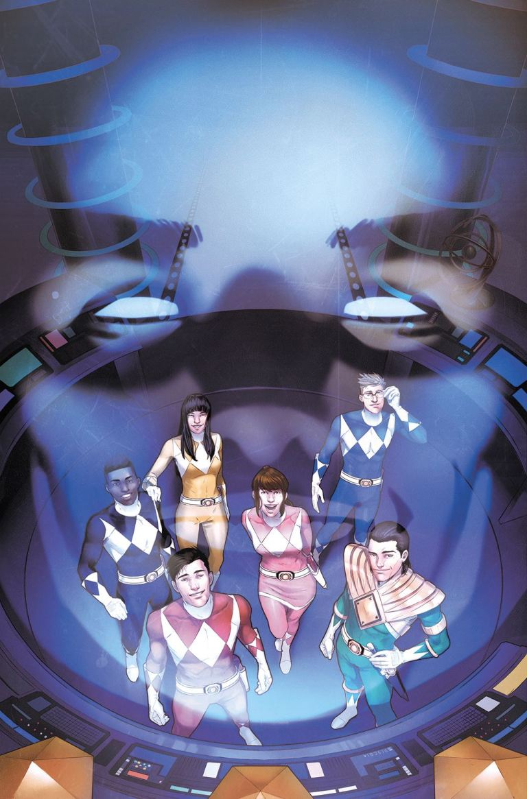Mighty Morphin Power Rangers #15 (Cover A Jamal Campbell)