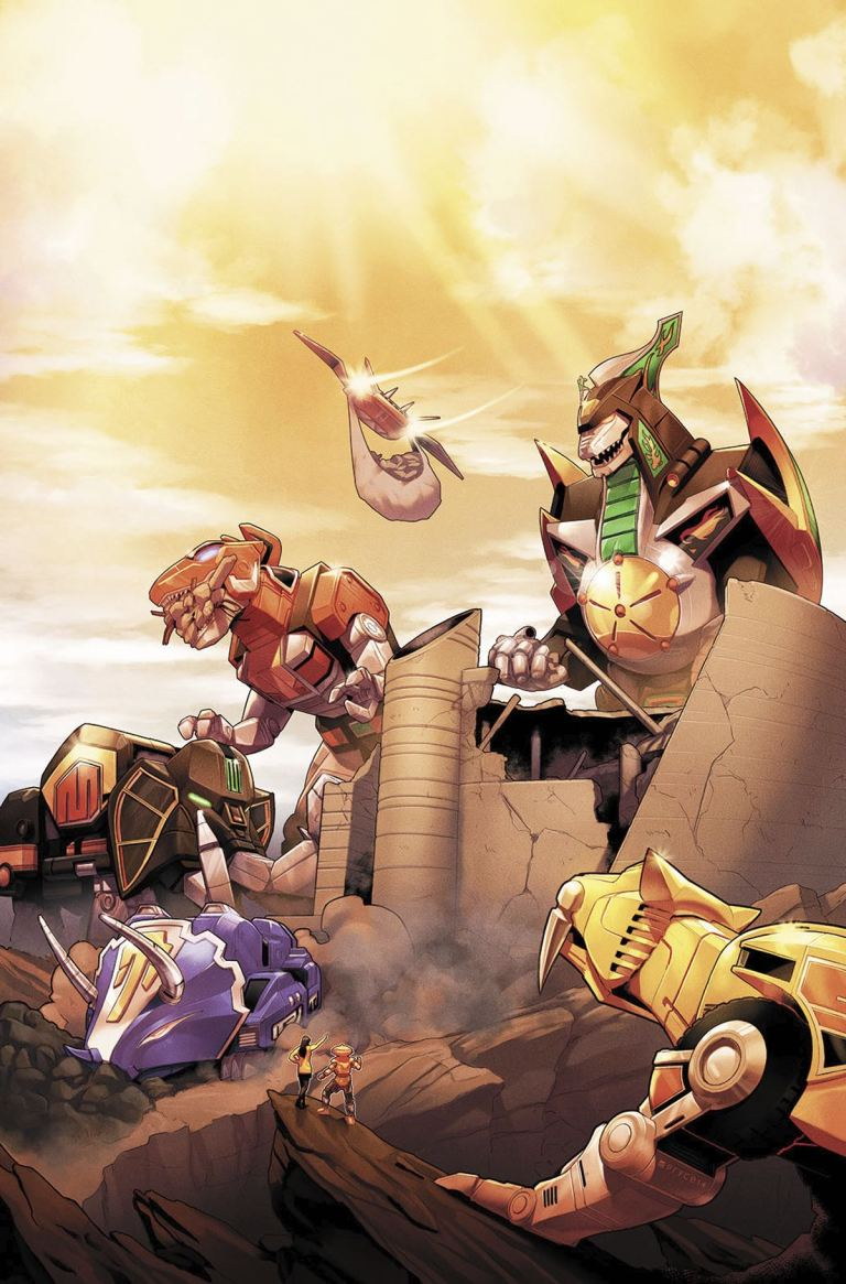 Mighty Morphin Power Rangers #17 (Cover A Jamal Campbell)