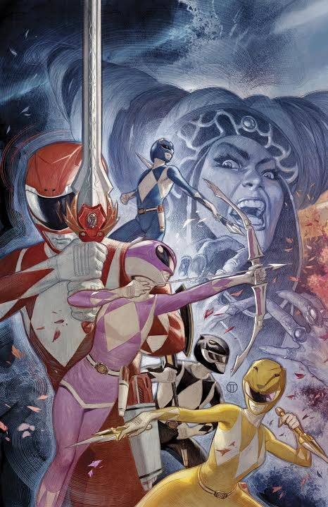 Mighty Morphin Power Rangers #17 (Cover F Julian Totino Tedesco)