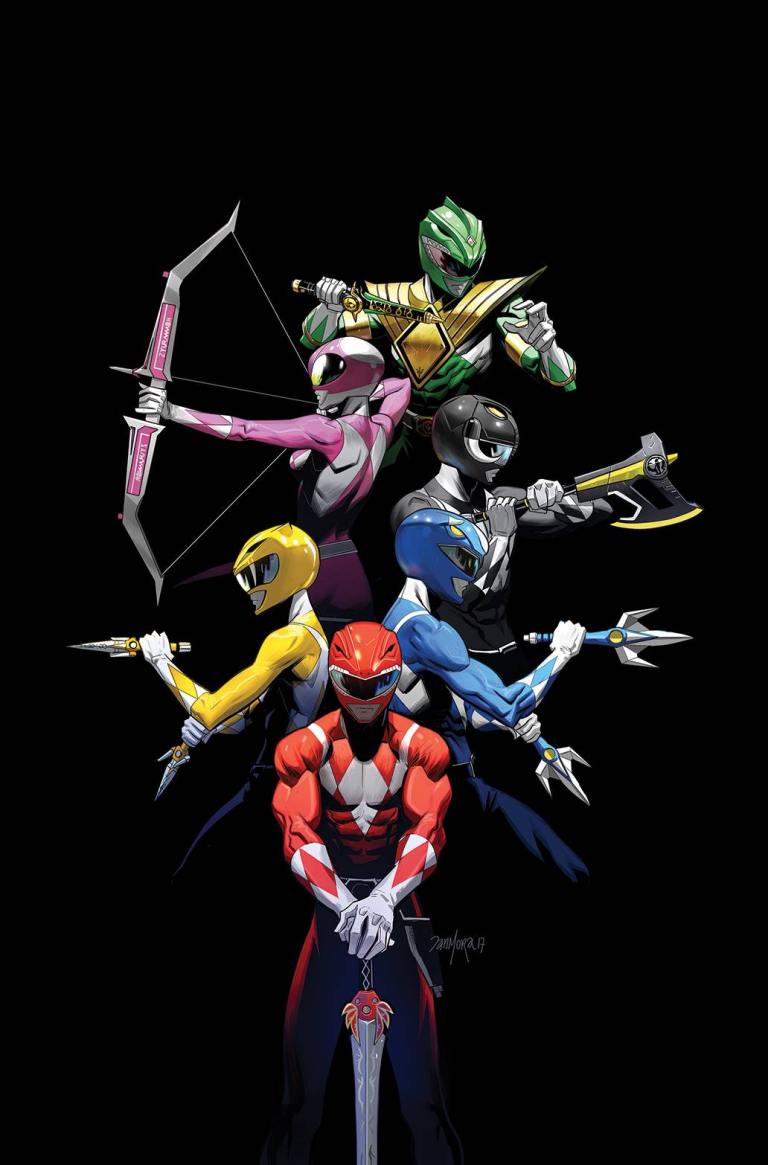 Mighty Morphin Power Rangers 2017 Annual #1 (Cover B Dan Mora)