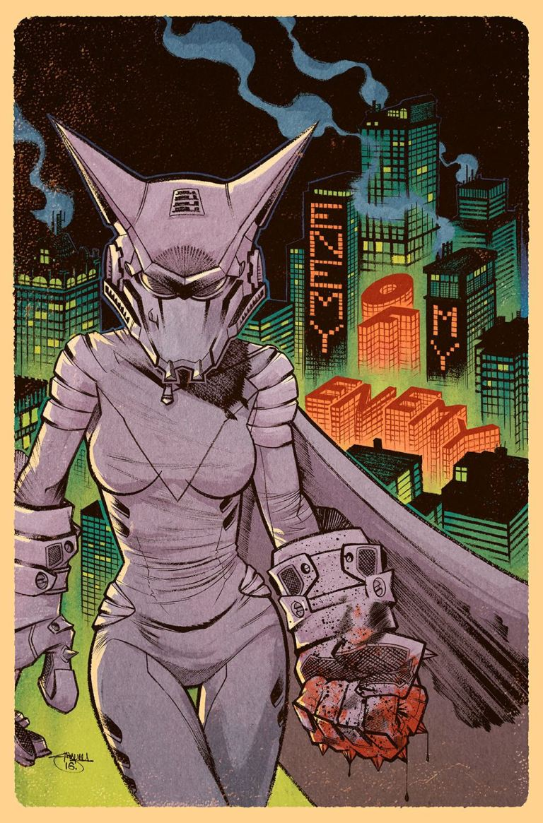 Mother Panic #4 (Cover B Shawn Crystal)