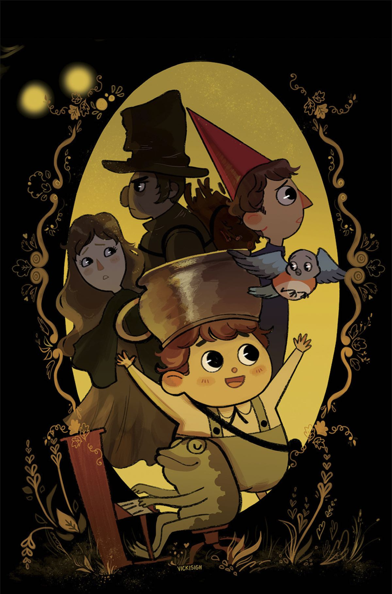 Over The Garden Wall (2016) – Textless Covers