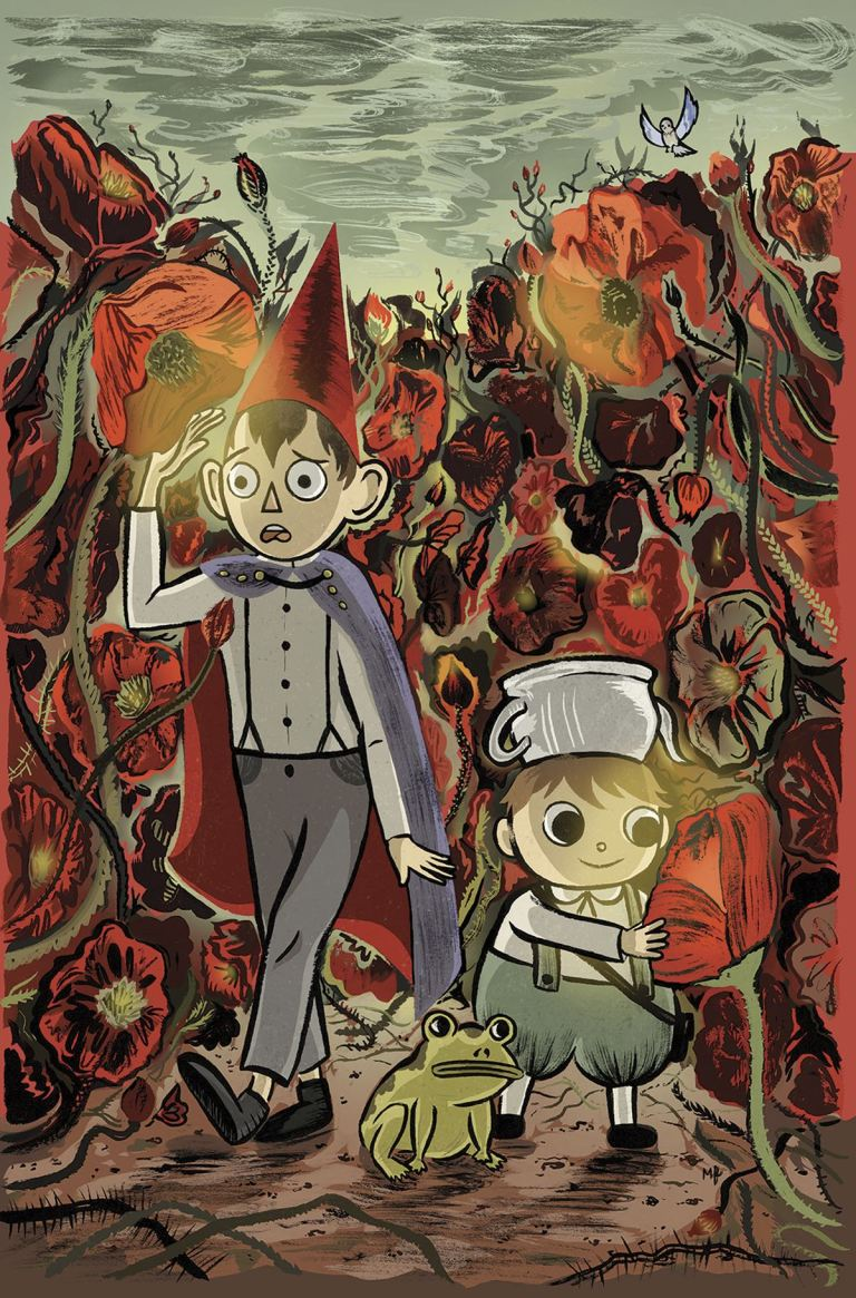 Over The Garden Wall #12 (Cover B Meags Fitzgerald)