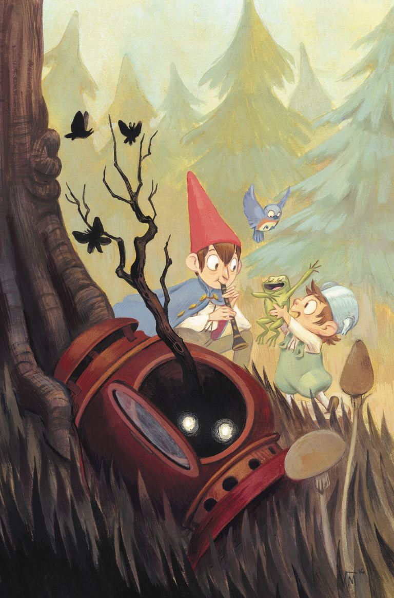 Over The Garden Wall #15 (Cover B Victoria Maderna)