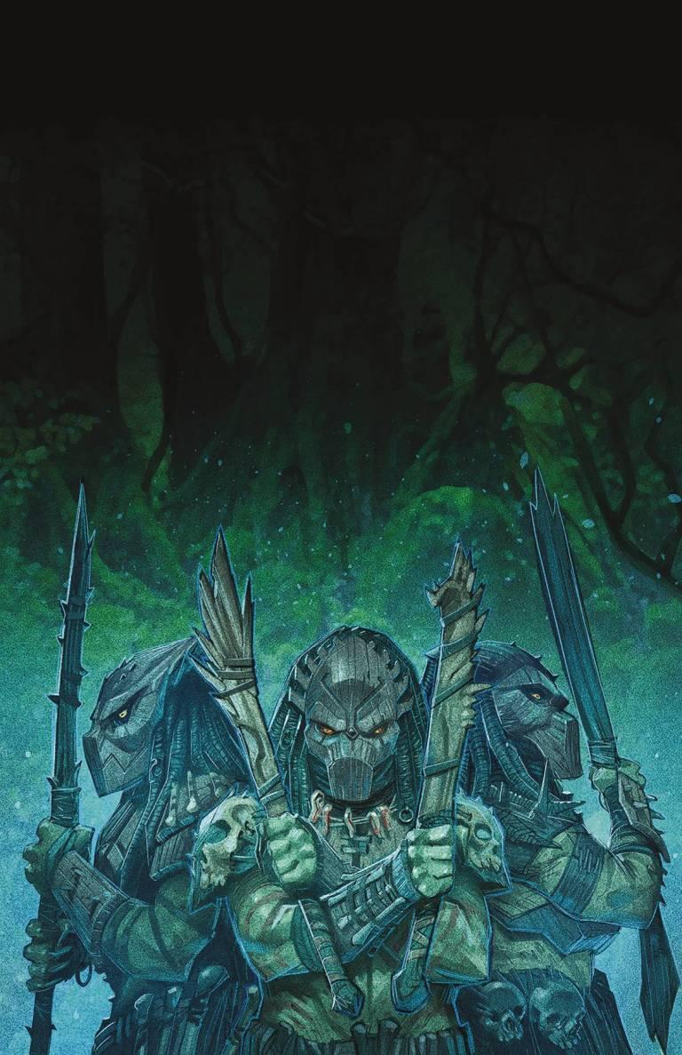 Predator Hunters #4 (Cover B Francisco Ruiz Velasco)