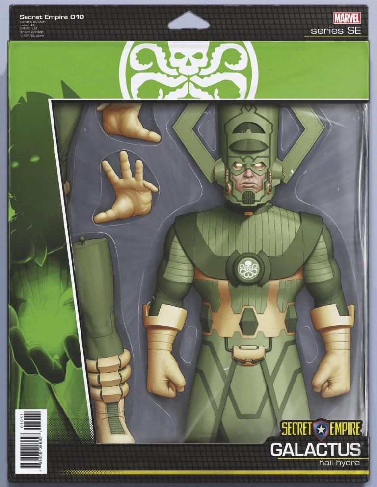 Secret Empire #10 (Cover E John Tyler Christopher Action Figure Variant)